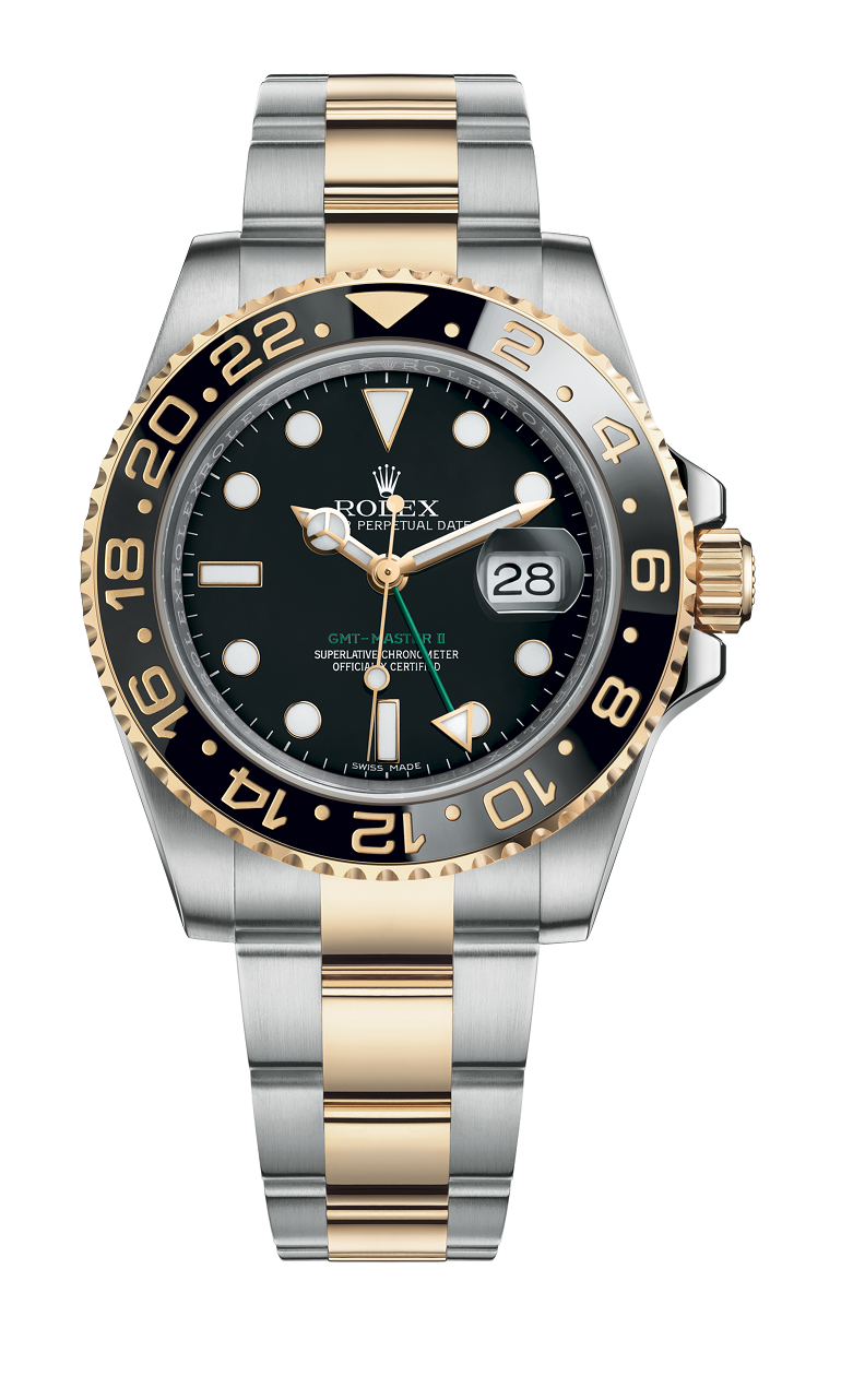 ROLEX GMT MASTER II - 116713LN GENTS WRISTWATCH