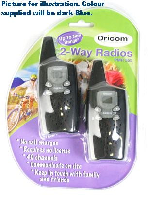 ORICOM 2-WAY RADIO WALKY-TALKY. PMR-555